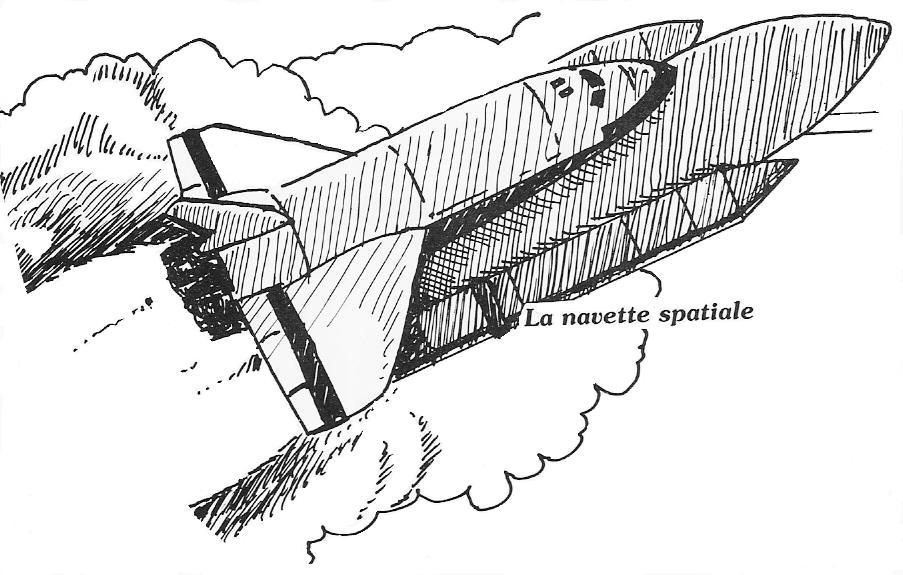 Comment dessiner une navette spatiale - Dessin d une fusee ...